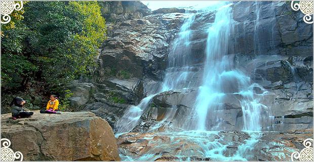 图片分享美丽乡村游探索发现——安徽省广德县四合——神奇的响水滩瀑