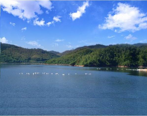 广德母亲河的发源地,接龙湖风景优美